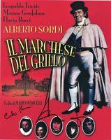 Flavio Bucci Cochi Ponzoni Foto Signed Autografo Marchese del Grillo Cinema