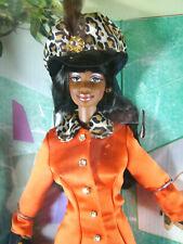 Tangerine Twist Barbie Doll AA African American Designer Fashion Savvy NIB 1997