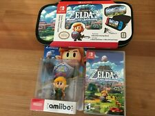 Nintendo Legend of Zelda Link's Awakening Game, Amiibo & Nintendo Switch Case