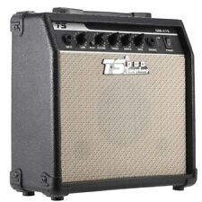 "GT-15 15W Electric Guitar Amplifier Amp Distortion with 3-Band EQ 5"" Speaker"
