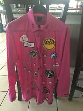 ELVIS Shirt with Pins and Patches