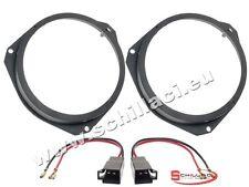 Adattatori altoparlanti Casse 165 mm + connettori  per Opel Vectra C portiere an
