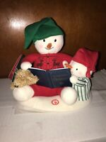 Hallmark 2019 STORYTIME SNOWMAN Techno Plush Sound and Motion NEW with Batteries
