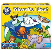 Orchard Toys 069 Where Do I Live? Matching Memory Lotto Game Toddler Children 3+
