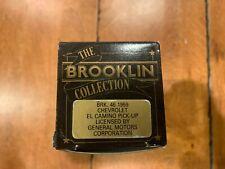 NIB BROOKLIN COLLECTION 1959 CHEVROLET EL CAMINO PICK-UP BRK 46