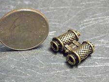 Dollhouse Miniature Antiqued Binoculars 1:12 one inch Scale G93 Dollys Gallery