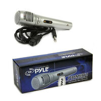 Pyle PDMIK1 Professional Moving Coil Dynamic Handheld Microphone, 6.5 Ft. Cable
