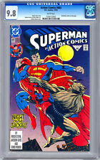 ACTION COMICS #683 CGC 9.8 *FIRST DOOMSDAY APPEARANCE* DEATH OF SUPERMAN 1992