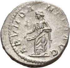 Roman ELAGABALUS Denarius ABUNDANTIA STAR CORNUCOPIA SILVER Rome (DR1)
