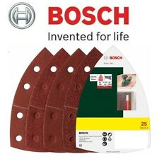 BOSCH Mixed Grit Delta Sanding Sheets (25 Pack) (To Fit: Bosch PSM 80A Sander)