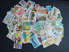 Worldwide stamp accumulation, kiloware ,1023 all different off paper stamps