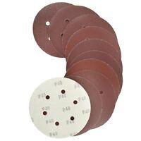 150mm Hook/Loop Sanding Abrasive Discs Orbital DA Palm Sander Round Sanding Pads