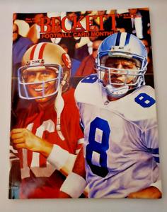 Beckett Football Magazine #50 May 1994 Montana, Aikman, Bradshaw, Namath NM