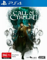 Call of Cthulhu Detective Investigator RPG Rare Game For Sony PlayStation 4 PS4