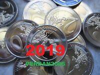 2 EURO 2019 TUTTI GLI STATI ALLE LÄNDER ALL COUNTRYS TOUS PAYS MALTA SLOVENIA ..