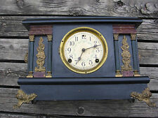 Antique Sessions 8 Day Half Hour Strike, Cathedral Gong Arcadia MANTEL CLOCK
