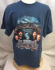 Alabama The American Farewell Tour 2003 blue medium concert tour t shirt