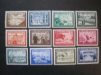 Deutsches Reich MiNr. 702-713 postfrisch**  (Y 771)