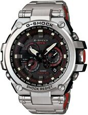 NEW G-SHOCK MT-G TWISTED METAL BLACK AND RED DIAL MTGS1000D-1A4