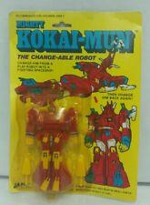 New RARE 1980s Mighty Kokai-Mun The Change-Able Robot Transformer by JA-RU