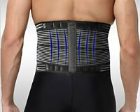 Neoprene Deluxe Belt ~ Pain Relief~Double Pull Lumbar Lower, Back Support Brace