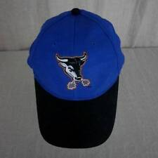 Durham Bulls Wooly Bull Royal Blue Ball Cap Child Youth Adjustable