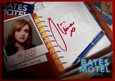 BATES MOTEL - OLIVIA COOKE as Emma Decody - Autograph Card - Season Two - AOC1