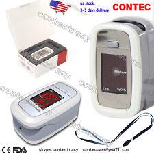 US LED Finger Tip Pulse Oximeter Blood Oxygen Saturation,Oximetro,white,CMS50DL1