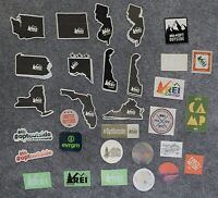 Authentic Rei Stickers - Your Choice (31 Choices)