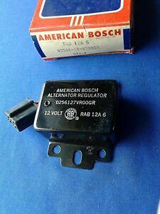 American Motors / Jeep 1971-74 American Bosch 12V Voltage Regulator # RAB 12A-6