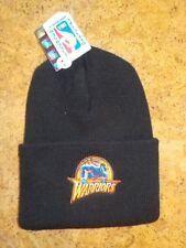 Vintage-Bonnet long de l'équipe des WARRIORS  - Noir - Taille unique - Neuf