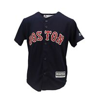 Boston Red Sox Genuine MLB Majestic Cool Base Kids Youth Size Jersey New Tags