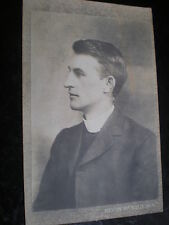 Old postcard rev W McNeill father writer Janet McNeill Birkenhead c1910s
