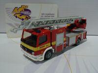 Rietze 71611 # Iveco Magirus DLK 32 Feuerwehr Lünen in rot-gelb 1:87 NEU