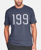 NEW Under Armour Men's UA TB12 Vintage 199 Tom Brady T-Shirt NAVY Medium Md M