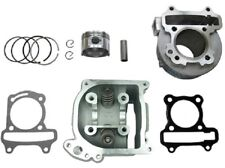 80cc Big Bore Kit Gy6 139Qmb Scooter Moped With Egr Head Cylinder Piston Rings