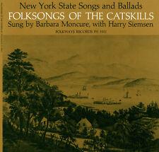 Barbara Moncure - Folk Songs of the Catskills (New York) [New CD]