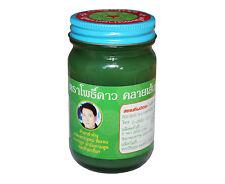 "Baume traditionnel thai vert ""Pho Dao*"" (baume du tigre, tiger balm). 100g"