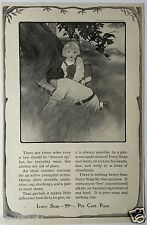 Ivory Soap Ad with Art by Katharine R. Wireman - 1906 Ladies' Home Journal...