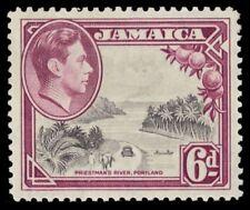 "JAMAICA 123a (SG128) - KGVI ""Priestman's River"" 1938 Printing (pa1184)"