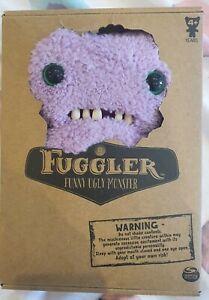 *New & Boxed* Fuggler Funny Ugly Monster Gaptooth Mcgoo (Purple) Plush 22cm