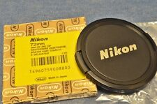 c. 1970's NEW IN BOX 72mm Front Lens Cap f/ NIKON NIKKOR 18 20 24 28 58 85 105mm