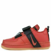 Nike Air Force 1 Utility Dune Red/Dune Red-Black GS AJ6601 600 Multiple Sizes