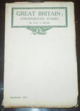 1909, 1st Edition, GREAT BRITAIN: LINE-ENGRAVED STAMPS, MELVILLE STAMP BOOKS #1