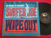 SURF ROCK LP - THE SURFARIS - SURFER JOE / WIPEOUT - DOT DLP 3535