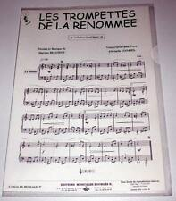 Partition moderne sheet music GEORGES BRASSENS : Les Trompettes * EX