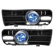 Blue LED Front Grille Fog Light Lamp Lower Grill For 98-04 VW Golf MK4 GTI TDI