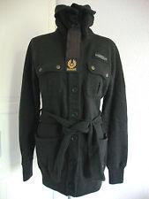BELSTAFF VIN WOOL BUTTON CARDIGAN LADY Jacket Sweatjacke Damen Gr.36 NEU+ETIKETT