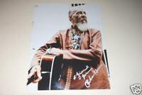Guitarist Richie Havens Hand Signed 11x14 Photograpg R.I.P.