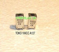 TOKO 199CCA127EK RF/ANTENNA COIL 7KC TYPE, 2 PIECE OFFER!